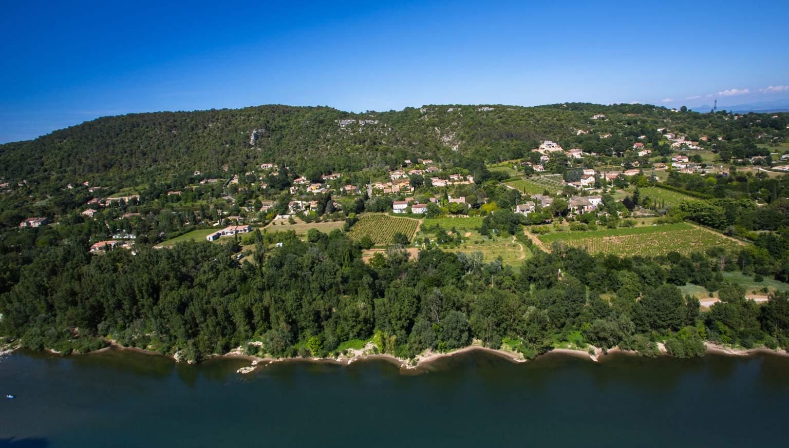 ValléeL'Auberge des Gorges à Saint-Martin-d'Ardèche