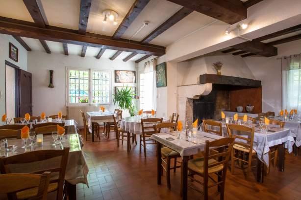 Salle à mangerL'Auberge des Gorges à Saint-Martin-d'Ardèche